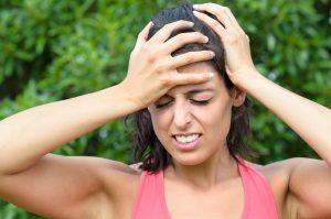 כאב ראש במצח
